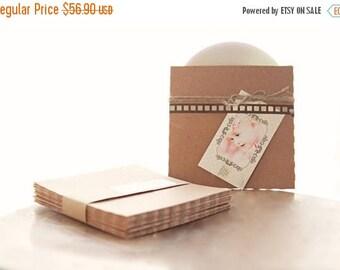 ON SALE Recycled Kraft CD Sleeves- Set of 120  | wedding cd sleeve, kraft envelope, cd cover, wedding songs favor, photography packaging