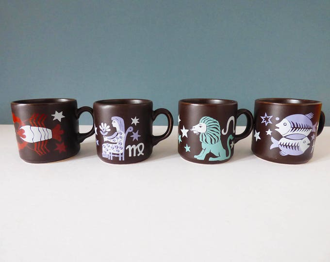 Horoscope mugs - Staffordshire potteries / Kenneth Townsend ?