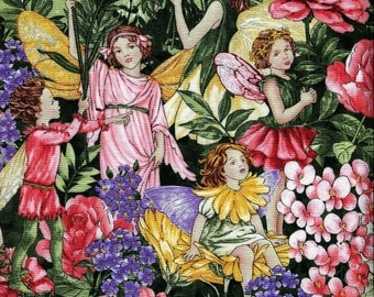 New - Bloom Fairy Dream Flowers Border - Michael Miller - 1 yard - More on Order - BTY