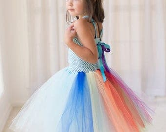 EARLYBIRD SALE My Little Pony Inspired Halloween Costume or Birthday Dress Inspired Tutu Dress, Birthday Parties, or Dress Up