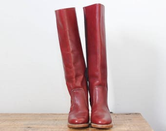 Vintage Dexter Cowboy Western Boots Cowgirl Boot Womens 7 N