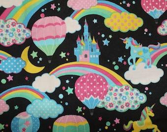 Unicorn Magic 100% cotton fabric