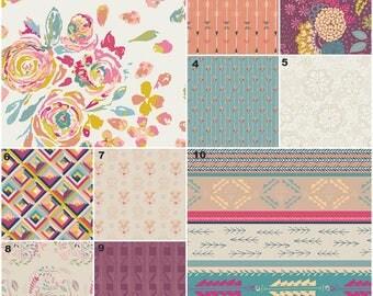 Boho Floral Baby Bedding Girl,Tribal Crib Bedding, Bohemian Nursery, Peach, Coral, Salmon, Pink, Teal, Aztec, Flower, Arrows Nursery