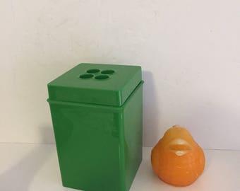 DANSK CANNISTER GREEN 2 Quart, Modern Kitchen, Mid Century, Storage Container at Modern Logic