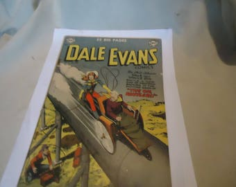 Vintage 1951 Dale Evans  Jan-Feb No. 15 Comic Book DC Comics,  collectable