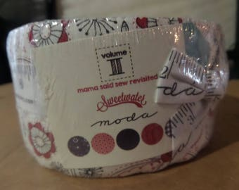 Mama Said Sew Revisited Jelly Roll by Sweetwater for Moda Fabrics