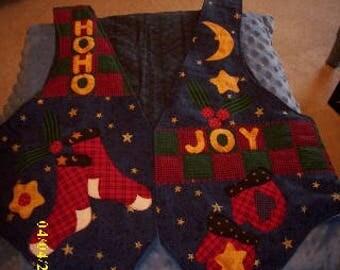 Vest-Holiday Joy