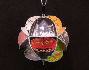 Rolling Stones Record Jacket Ornament Made Of Album Covers: Mick Jagger