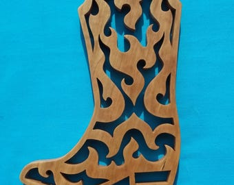Decorative Boot Wall Hanging