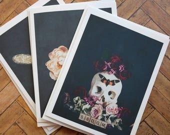My Favorite Murder Greeting Cards - Set of 3 - Blank Inside - SSDGM