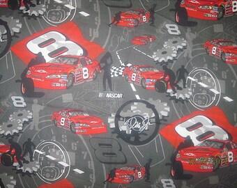 Dale Jr Fabric, #8 fabric, racing fabric, nascar fabric, cotton, Dale Earnhardt Jr, Fat Quarter, FQ, 18X22, scrap, remnant