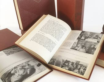 """Complete Set of """"The Individual and the World"""" A Course in Three Divisions, 9 Volume Set - Rare 1947 Edition"""