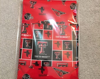 Texas Tech Pillowcase