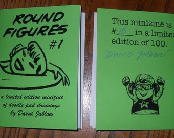 The do it yourself doodler book round figures 1 by david jablow doodle pad minizine solutioingenieria Image collections