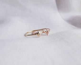 Starburst ring + diamond