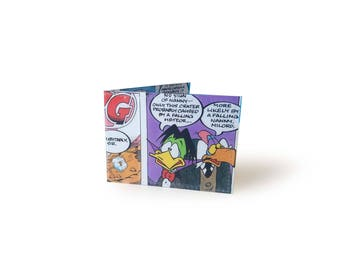 Count Duckula Card Holder - metro, rail, oyster cards