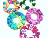 5 Cat Toy Crochet Rings