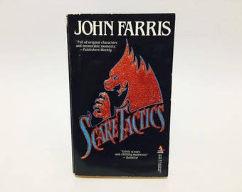 Vintage Horror Book Scare Tactics by John Farris 1989 Paperback Anthology