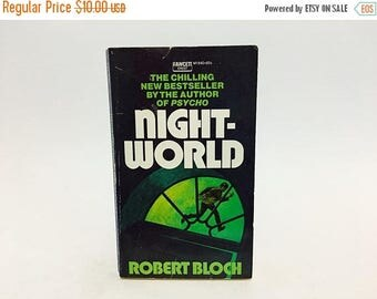 SUMMER BLOWOUT Vintage Horror Book Night-World by Robert Bloch 1973 Edition Paperback