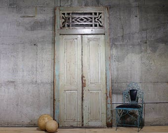 Antique Doors Restaurant Decor Retail Display Entryway Meditation Room Yoga Studio