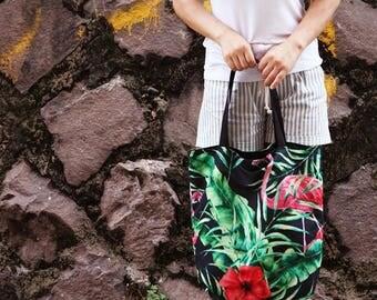 Decorative Poly Fabric panel 'Tropical 2 ' (50 cm x 50 cm) 90330