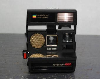 Vintage 660 Polaroid Land Camera
