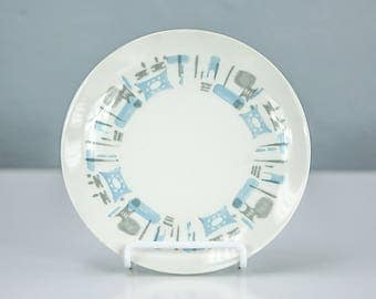 Vintage Blue Heaven by Royal China, Bread Plate