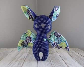 Bat stuffed animal, bat, bat plush toy, stuffed toy bat, kawaii bat