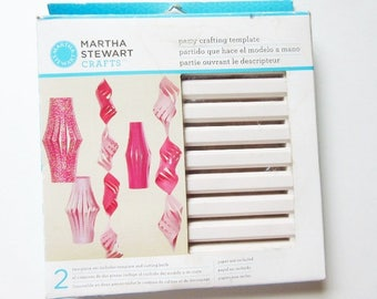 Martha Stewart Party Decorations Crafting Template for Small Chinese Lantern