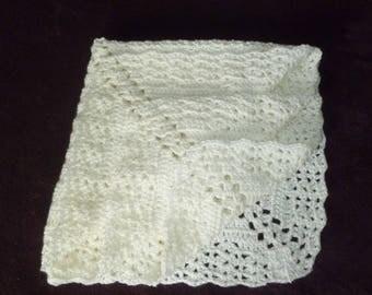 Elegant  Satin Baby Blanket And Bonnet