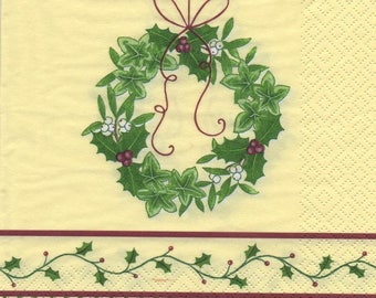 Guy and Holly Crown 3136 - 4 paper napkins