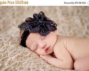 10% SALE Baby headband, newborn headband, adult headband, child headband and photography prop The single sprinkled- LORELEI headband