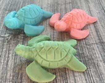 10 Turtle Soap Favors:  Beach Soaps, Baby Shower Favors, Wedding Favors, Bridal Favors, Destination Wedding,  Birthday Favors, Baby Sprinkle