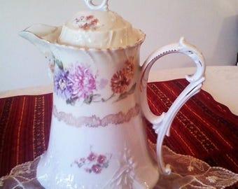 HURRY ON SALE Treasury Antique C T Germany Chocolate Pot