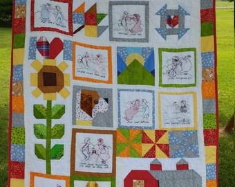 Story Quilt - a custom quilt designed for you!