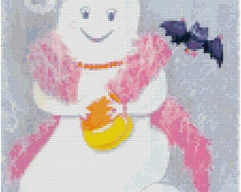 A Halloween Outing Cross Stitch Pattern