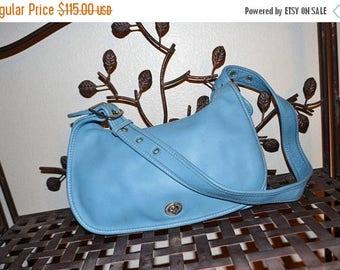Sweetheart Sale Coach~Coach Bag~Coach Legacy Bag~ Coach 1955~ Coach Stewardess  Bag BLUE~Great Condition