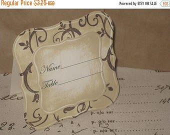New Year Sale Vintage Style Inspired French Elegant Wedding Escort Cards Place Cards ESC