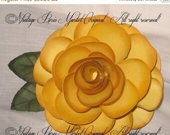 March Sale Hand Sculpted Jumbo 3D Diana Rose Table Number / Name Holder French Elegant Wedding ESC