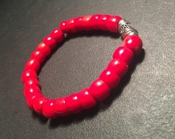 Unisex Bamboo Coral Bracelet