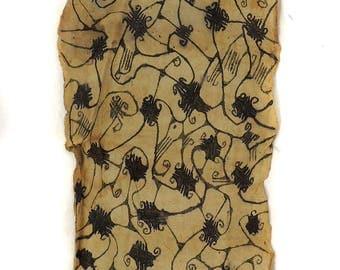 Pygmy Mbuti Barkcloth Ituri Rainforest Congo African Art 119492