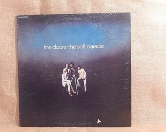The DOORS - Soft Parade - 1969 Vintage Vinyl Gatefold Record Album