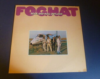 Foghat Rock And Roll Outlaws Vinyl Record LP BR 6956 Bearsville Records 1974