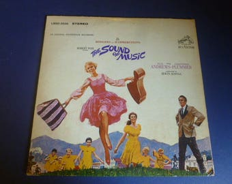 The Sound Of Music Vinyl Record LP LSOD-2005 With Storybook RCA Records 1965