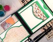 Art journal, handmade wat...