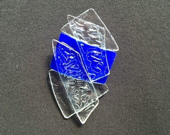 Shattered Glass Ceiling Pin