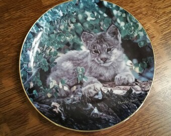Hideaway Collectible Plate by Charles Frace