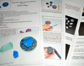"""Tutorial for the """"Resin Faux Crystals and Druzy Cabochon"""""""