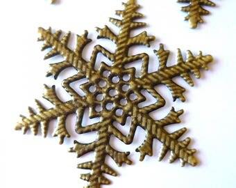 1 snowflake print bronze 45mm