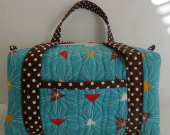 Turquoise Make Up/Travel/Cosmetic Bag